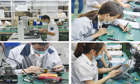 DNAKE Supply Chain Center Production Skills Contest