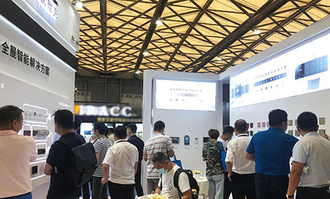 DNAKE Smart Home Products Displayed at Shanghai Smart Home Technology Fair
