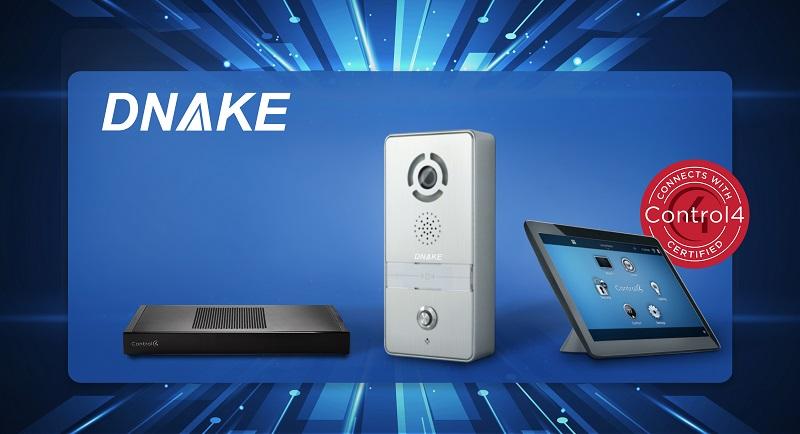 DNAKE IP Intercom with Control4