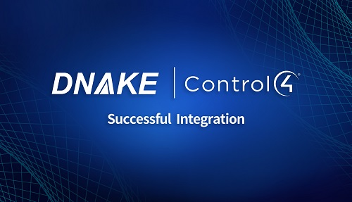 DNAKE Intercom Now Integrates with Control4 System
