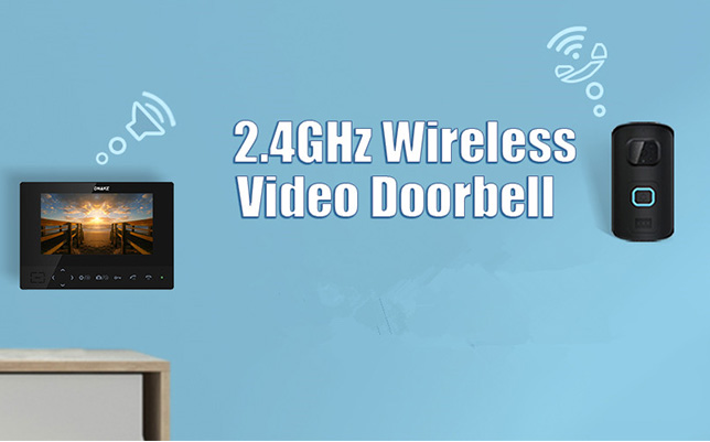 2.4GHz Wireless Video Doorbell