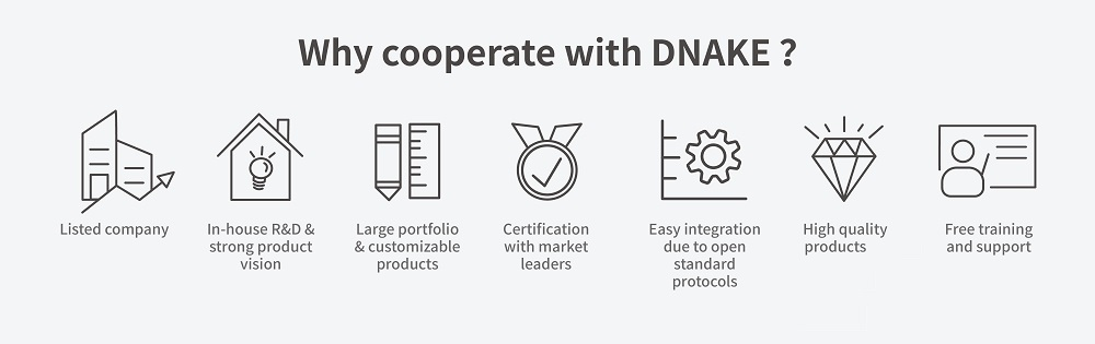 why cooperate with DNAKE